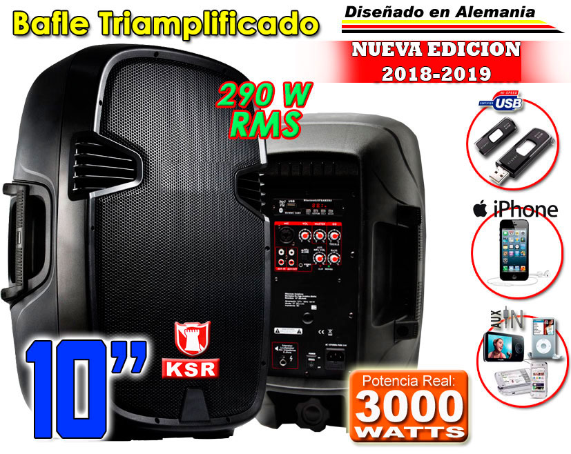 Bafle Amplificado