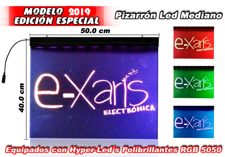 Pizarron Led Rgb