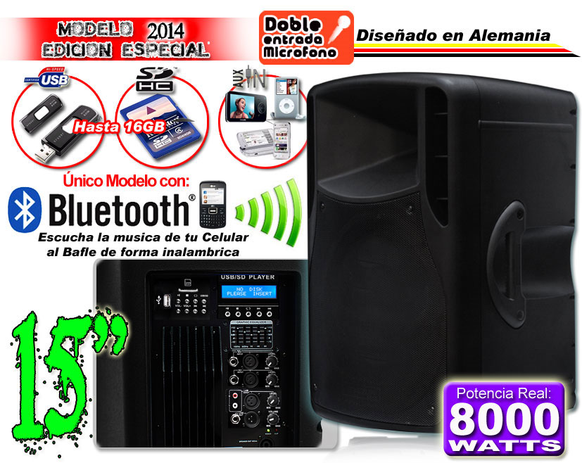 Bafle Tri Amplificado
