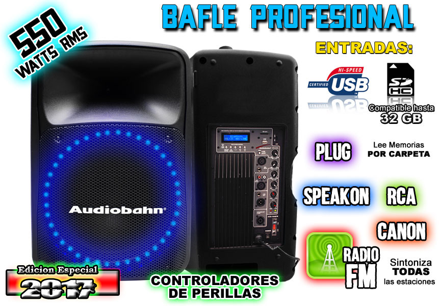 Bafle Triamplificado