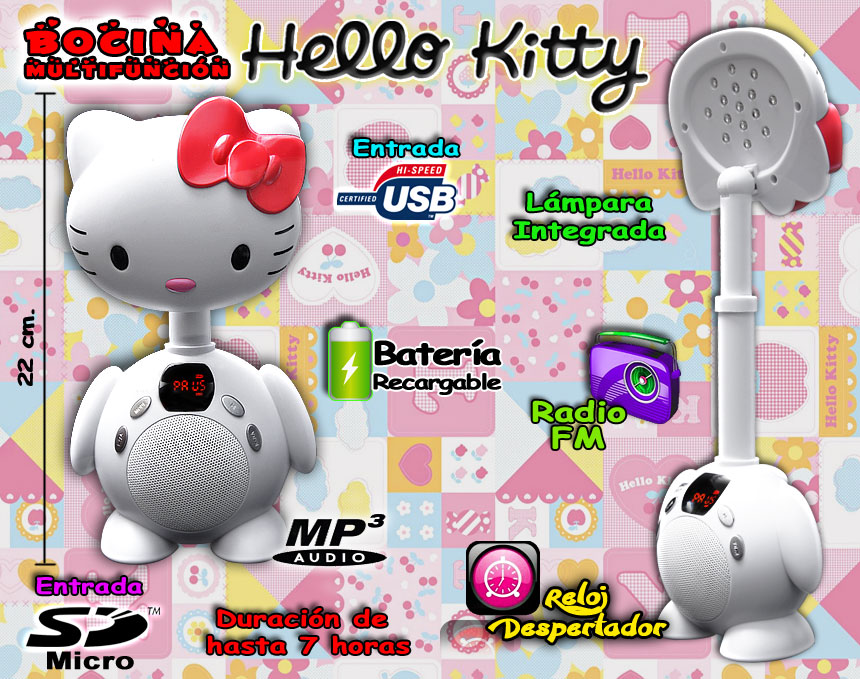 Bocina Hello Kitty