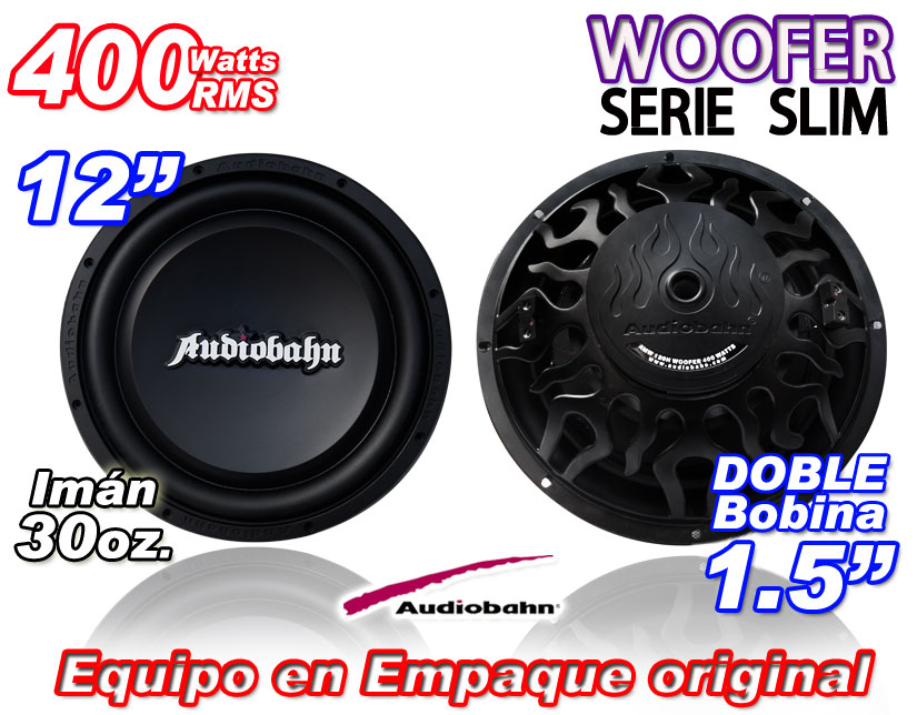 Woofer Audiobahn